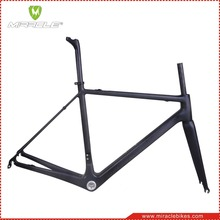 MIRACLE BIKE T1000 Carbon Fiber Road Race Bike Frameset 60cm Carbon Bike Frame/Fork/Seatpost/Clamp accept custom painting