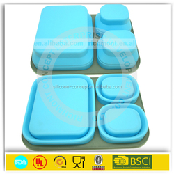 Promotion Gifts FDA and LFGB certification 3-compartment Bento Lunch Box Containers
