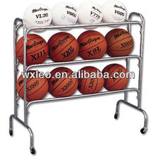 Ball Carry Cart used to hold soccer balls and other balls