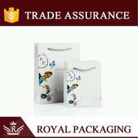 Custom Pattern Rigid Art Paper Gift Bag for Jewelry, Gift Packaging, Storage