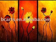 High quanlity wholesale prices modern flower painting, blurred vision