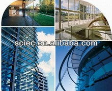 1.5~25mm processed building glass,float glass with CE and ISO9001