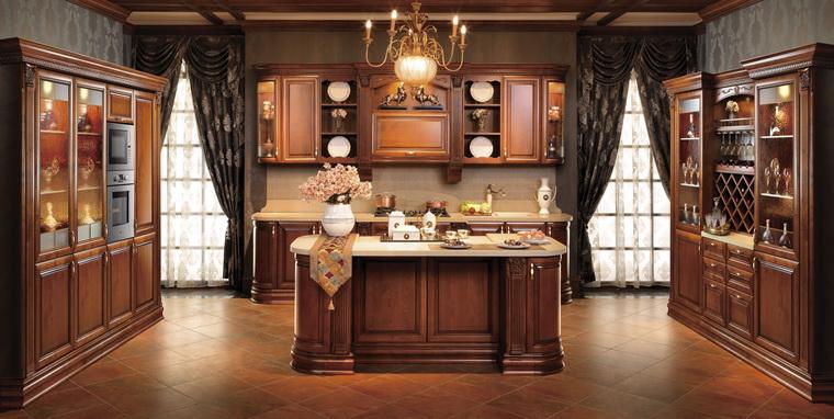 2014 oppein italy solid wood kitchen cabinet modern for Muebles de cocina alemanes