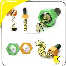 2015 hot selling Spiral cucumber slicer/vegetable nicer slicer