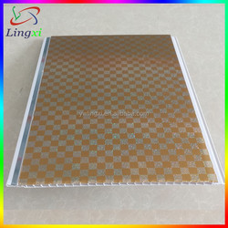 Gold High Temperature PET Transfer Printing Film Application PVC Wall Panel China, PVC Ceiling Panels In China, Color PVC Sheet