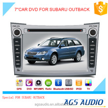AGS special 7'' touch screen car dvd player for SUBARU OUTBACK