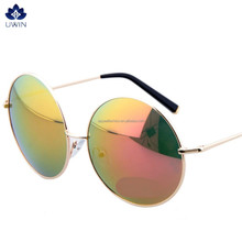 2015 direct buy china Round trendy vintage sunglasses retro