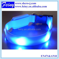 EN1150 cheap wholesale led dog collar dog reflective product