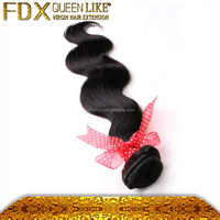Hot sale Easy to dye brazilian body wave hair top grade 100 human hair with natural color