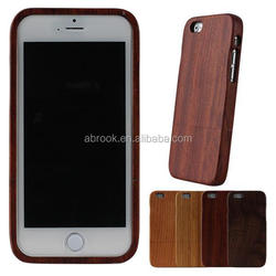 2015 Handmade real wood case for iphone 6 ,for iphone 6 wood case