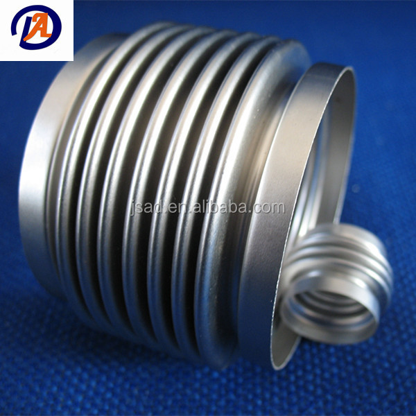 Stainless steel multilayer bellows used for couplings