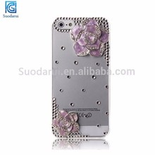 2015 Newest design Shine bright diamond hard cover for iphone 6
