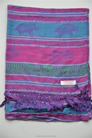 viscose pashmina shawl TSYS-021 dress kids solid color viscose scarf shawl for woman hijab factory supplier