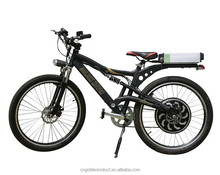 2015 hot selling electric mountain bike with 48v 1000w Magic pie motor,program,regen braking .