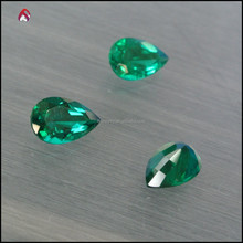 Created emerald high quality price per carat for jewelry