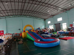party water slide , LZ-B2074 big water slide inflatable