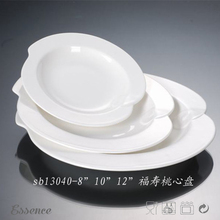 Hotel&restaurant use unique design porcelain dish sets