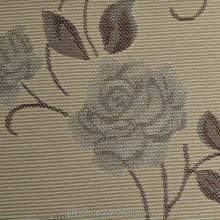 New arrival modern Design white blackout coating living room finished jacquard roller blinds 9005