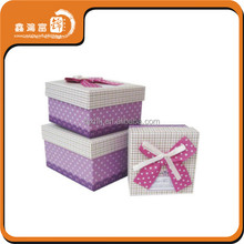 hot sale factory birthday paper gift box