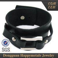 Promotions Good Prices Fashion Design Italian Leather Bracelet For Men