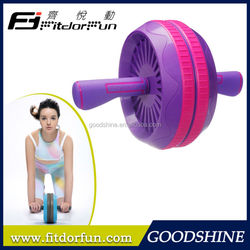 Feva Roller-Trending Hot Products Cost Effective Colorful Adjustable Double Multi Gym Equipment Ab wheel as seen on TV Maker