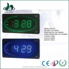 LED top quality brand name wall clock decor