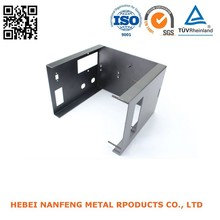 Custom steel sheet powder coating stamped heater brackets