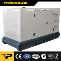 Silent type Three Phase 50HZ 63kva new design Diesel Generator Powered by Cummins