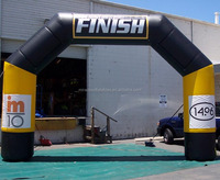 finish line quad inflatable arch can be custom C2001