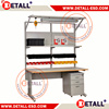 professional design woodworking bench with ESD function