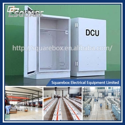 15ys experience, 1200 employee Aluminum Box DCU enclosure Power Enclosure Junction box