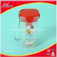 Plastic wide mouth personalized sports water bottles promotional with tubes