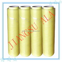 fruits and vegetables used transparent for food wrap/packing/pvc soft film