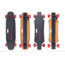 fiberglass skateboard deck rechargeable electric skateboard