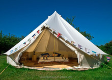 Outdoor camping bell tent heavy duty canvas tent