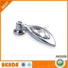 Best Design High Qulity Cheap Price circle design wardrobe crystal knobs
