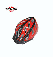 Bike Helmet Cycling Black 21 Vents Protective Ride Helmet CE approved