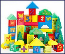 Branded stylish wooden architectural blocks for kids