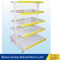 Supermarché& détail, rangerdesign Écran Équipement/metal gondole plateau de stockage& système de rack