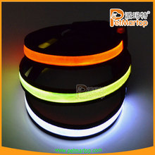 latest China top ten selling products led flashing dog collar TZ-PET1038 adjustable dog pvc collar