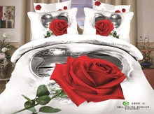 Europe and America Hot Selling New Design 4 Pc Bedding Set 100% Eco-Friendly Cotton