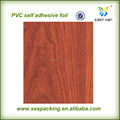 Clássico design auto adesiva pvc folha de revestimento de madeira para decoração de parede