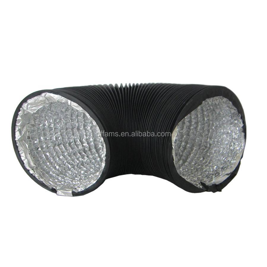 8 Air Duct : Inch semi rigid aluminium foil flexible duct air