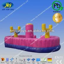 Inflatable Bungee Run Basketball