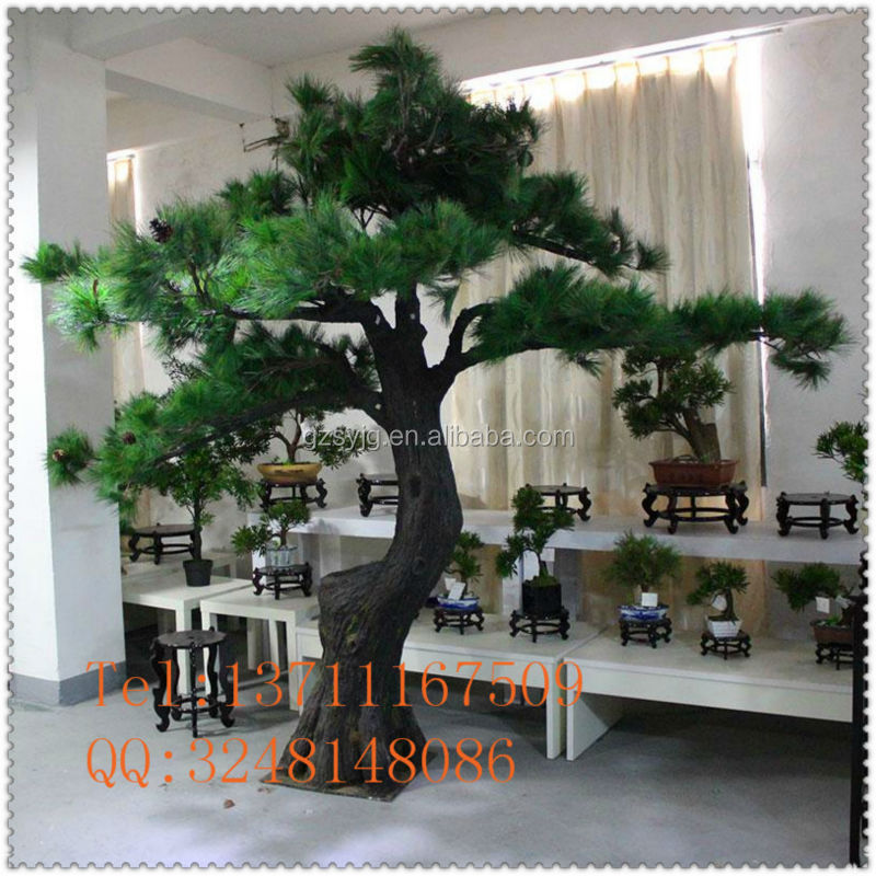 large artificial pine tree fiberglass pinaster