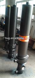 OEM hydraulic dump trailer telescopic cylinder