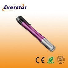 0.5W Colorful Mini Cute Pen Torch Light