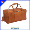 PU leather duffel bag men perfect travel case leather travel bag for business trip