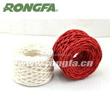 artificial colored craft braided nylon rope
