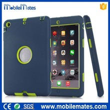 3 in 1 Detachable Matte PC+Silicone Combo Defender Case for iPad Mini Series, Heavy Duty Shockproof Case for iPad